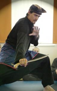 Martin Jagoditsch, part of the Self Defense team of instructors at Yamas.org in Vienna. Effektive Selbstverteidigung mit Krav Maga und Co am Self Defense Tuesday