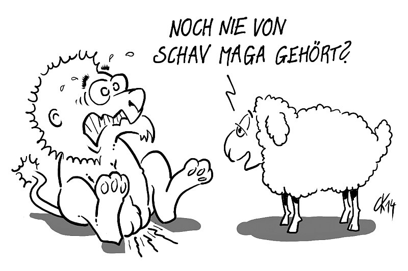 Schaf Maga Graf Magyar Crav Magah Kravmaga –wer maga? ;)