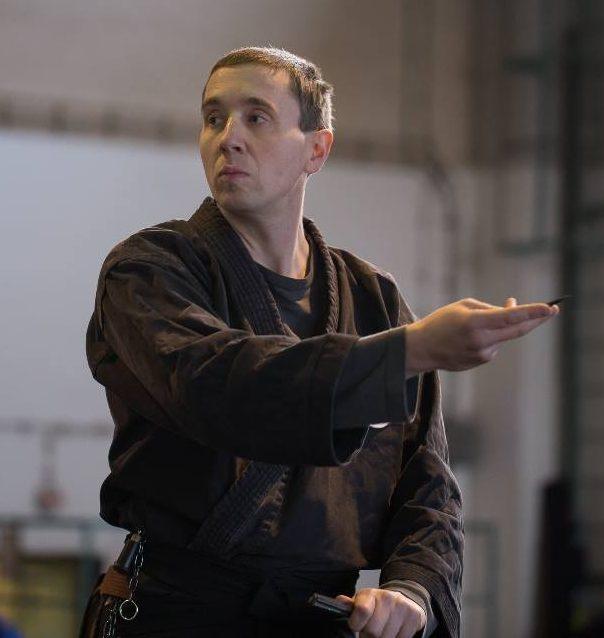 Gerald Schultz, part of the Self Defense team of instructors at Yamas.org in Vienna. Effektive Selbstverteidigung mit Krav Maga und Co am Self Defense Tuesday